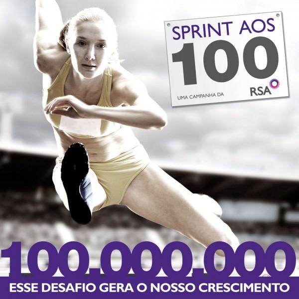 Campanha Sprint aos 100 RSA